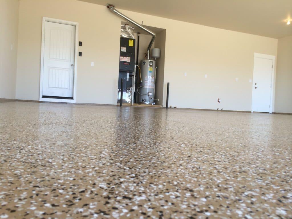 Epoxy Floor Coating A Garage In Eagle